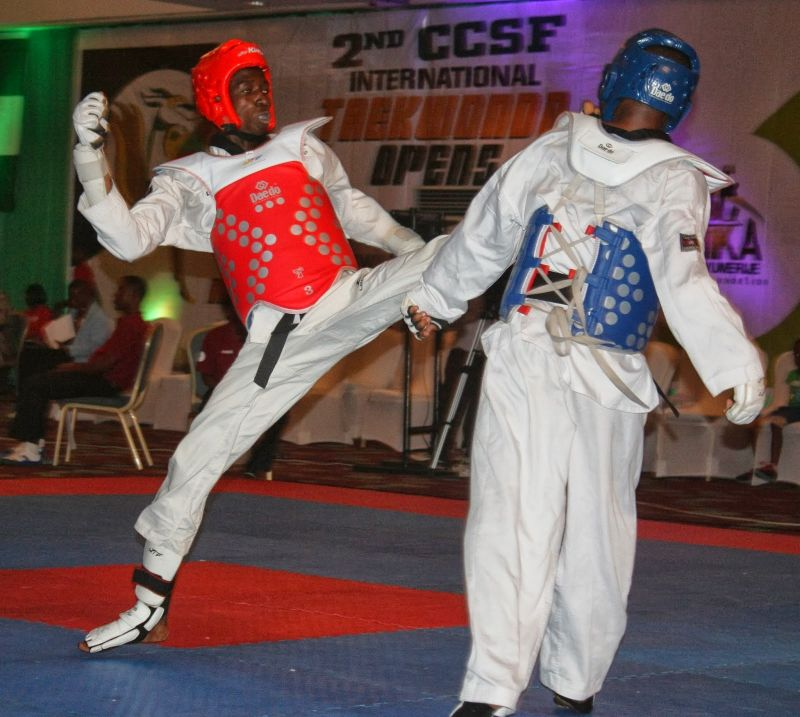 Team Nigeria begins quest for medals in taekwondo, boxing