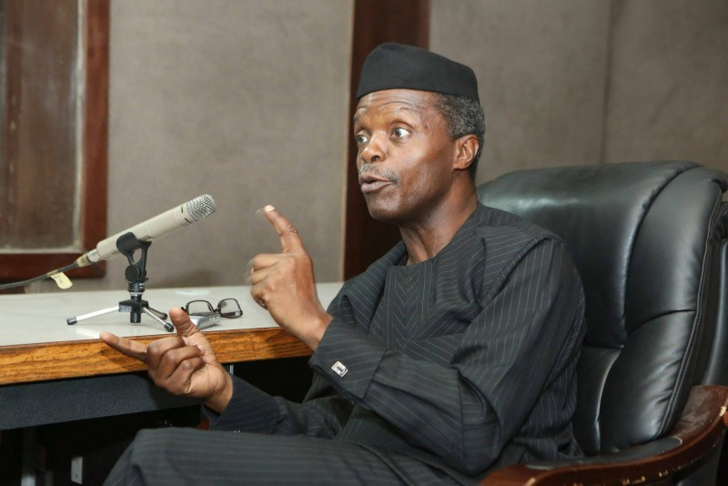 'We Will Take More Nigerians Out Of Poverty', Says Osinbajo@thegleamer.com