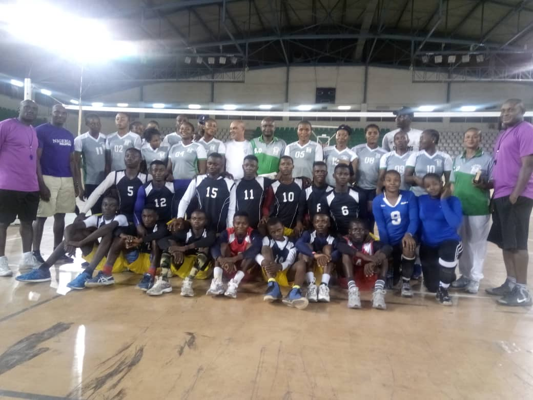 Volleyball African Tourney: Team Custom Intensify Preparations