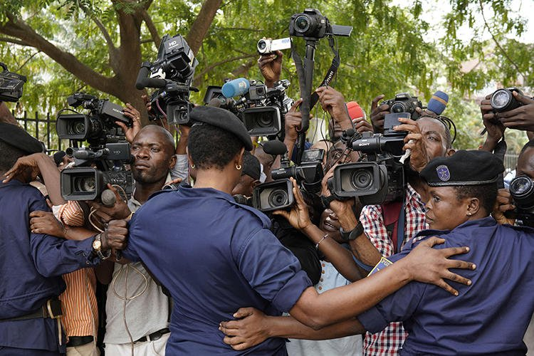 Congolese journalist jailed for insulting Governor
