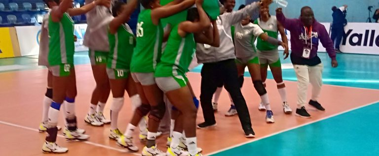 African Women Volleyball Club Cham'ship: Nigeria Customs Qualify For Quarter Finals, beats Canon 3-1