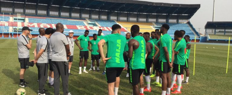 2019 AFCON qualifier: Super Eagles To 2nd Train In Asaba
