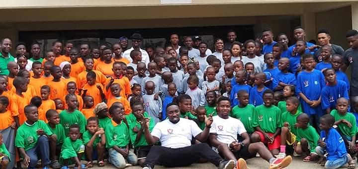 30 Less Privilege Children To Benefit UNESCO/TIG Gymnastics Mentoring