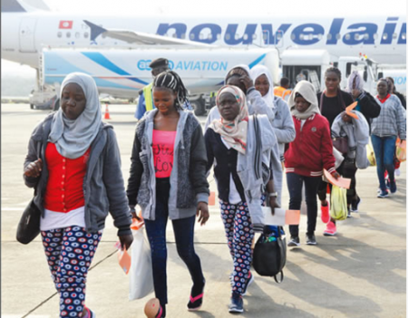 Another 180 Nigerians expatriated from Libya