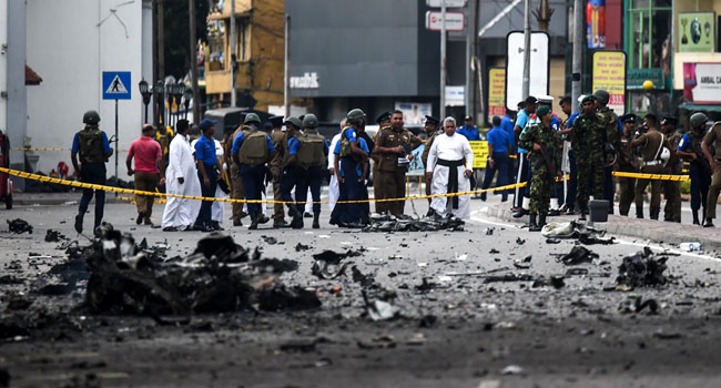 Death Toll In Sri Lanka Blasts Rises To 310