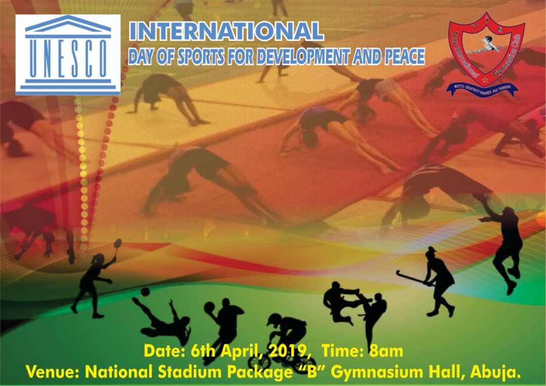 FCT Agog as students set to dazzles at UNESCO Int'l Day Of Sport for Peace and Devt