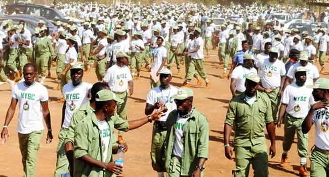 FG Approves Nov 10th Date For  NYSC Orientation Camps Re-opening