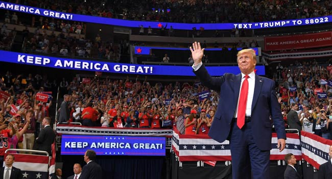 Trump Launches 2020 Bid With Vow To 'Keep America Great'