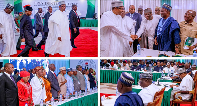 Buhari set to sworn-in New Cabinet Today