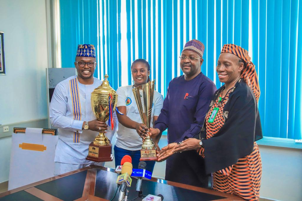 Sports Minister Commends Air Warrior Chairman On Basketball Development Initiative