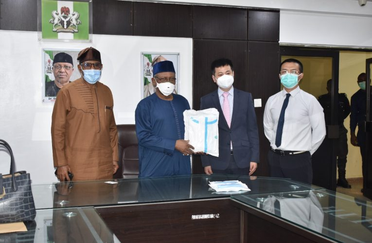 China Chamber Of Commerce In Nigeria Donates PPEs To Ministry Of Health