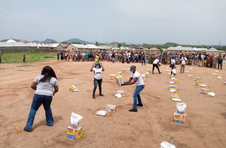 COVID-19: JCI Aso Donates Palliatives to Toge Community In Abuja