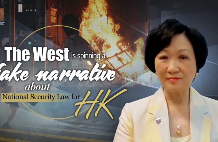 The West's fake narrative about National Security Law for HK