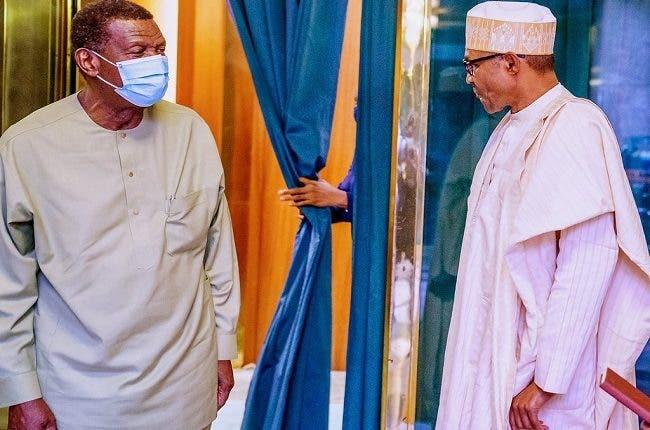 Buhari, Adeboye Hold Meeting In Aso Rock