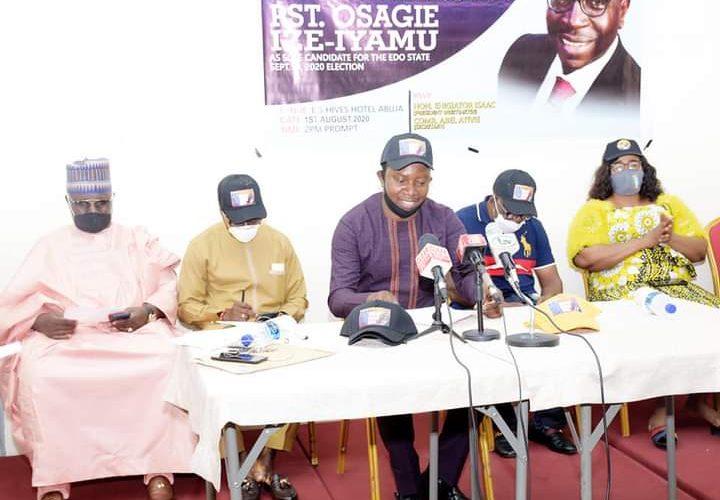 FCT-Edo Leaders and Patriots Back Pastor Osagie Ize Iyamu
