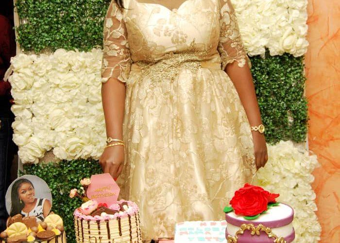 "Kaduna Socialite ""Yetty Gold"" Marks 40th Birthday, Holds Reception In Grand Style"