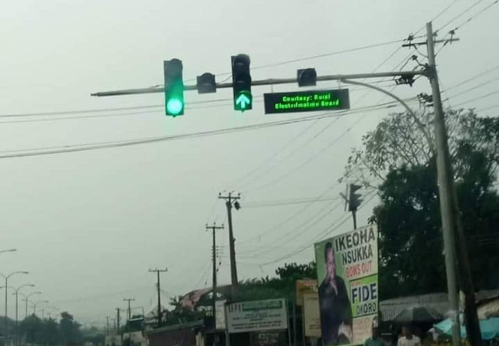 INSTALLATION OF TRAFFIC LIGHT IN NSUKKA: ITS SIGNIFICANCE AND THE BIRTH OF A NEW CITY IN ENUGU