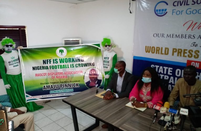 CSOs Throw Weight Behind Pinnick's CAF Presidency Ambition