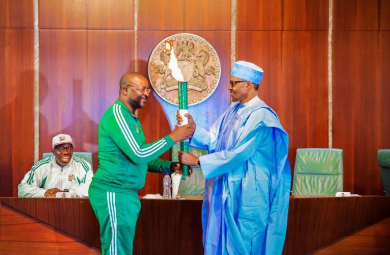 We will never abandon our sporting icons again –  Buhari