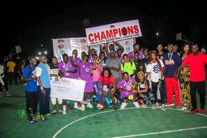 Air Warriors Retains Abuja City Basketball League Title