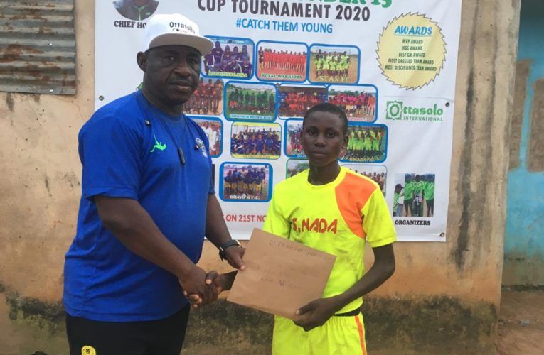 Rain of Goals As Ottasolo U15 Football Tournament begins