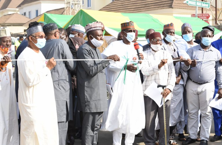 Erosion Control, Road Improvement: FCT Minister Commissions Projects In Sabon Lugbe, Kafe