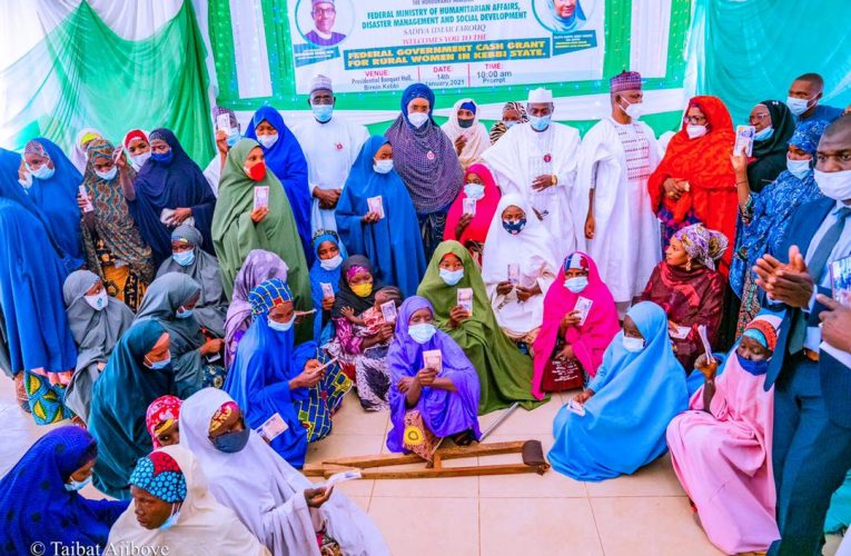 More Women With Disabilities Receive Federal Government's Cash Grant As  Programme Flags off in Kebbi