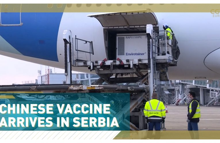 First Batch Of Chinese COVID-19 Vaccine Lands In Serbia